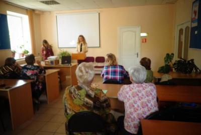 Урок финансовой грамотности проведен в общественной организации «Союз пенсионеров» г. Белогорск